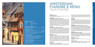 AMSTERDAM, FIANDRE E RENO