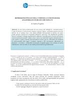 """Articolo: """"Repressione penale della tortura e Costituzione"""
