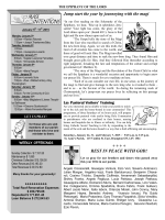 parish bulletin - ourladyoftheairways