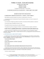 scarica/visualizza ebook - Foroeuropeo a cura di Domenico Condello