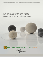 Listino prezzi - Beton Eisack