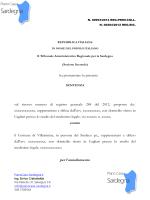Sentenza TAR Piano Casa Sardegna 953/2014