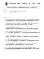 Relazione del presidente -(PDF)