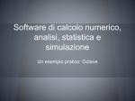 Matlab / Octave - Università degli Studi di Trieste