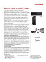 MAXPRO® NVR XE (Xpress Edition)