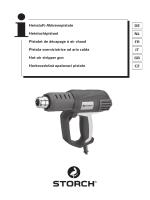 Heissluft-Abbrennpistole Heteluchtpistool Pistolet de décapage à air