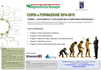 CORSI di FORMAZIONE 2014-2015