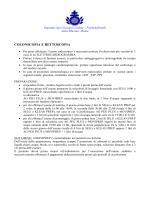 colonscopia e rettoscopia - Ospedale Fatebenefratelli Isola Tiberina