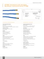 PTSE Temperature sensor Sensore termometrico PTSE