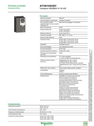ATV61HD30Y