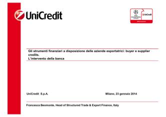 Beomonte - Unicredit