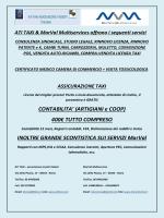 VOLANTINO ATI - MARVAL - Benvenuti in Marval Multiservices