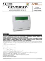 klcd_wirless_IT_EN - Amc Elettronica S.r.l.