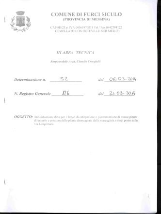 comune di fu rce siculo (provincia di messina)