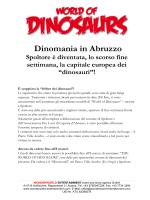 Dinomania in Abruzzo - La Piazza di Scanno