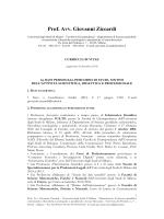 Prof. Avv. Giovanni Ziccardi - Università degli Studi di Milano