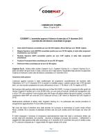 Cogemat - approvazione bilancio