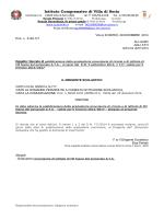 decreto di pubblicazione graduatorie provvisorie personale ata