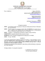 AGGIUDICAZIONE DEFINITIVA ASSICURAZIONE a.s. 2014/15
