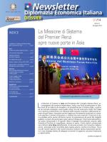 Newsletter N° 7 - Ministero degli Affari Esteri
