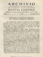 Corvina - n.s. Anno 3. No. 12. (Dicembre 1940.)