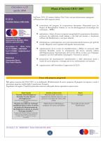 Piano d´Attività CICU 2014 - Comitato Italiano Città Unite