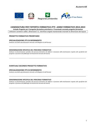 Allegato A3 - Ufficio scolastico regionale per la Lombardia