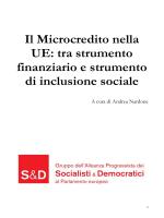 Il microcredito nella UE