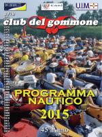 giorno 2 - Il Club del Gommone