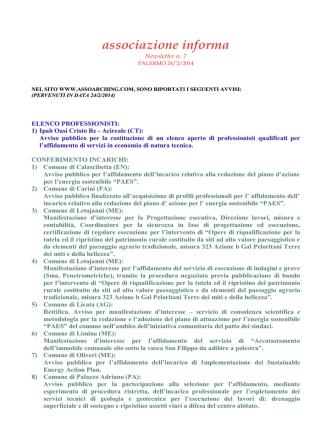 avv. 07 arching - Comune di Ispica
