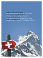 Leben und Arbeiten in der Schweiz Checkliste und