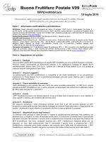 Buono Fruttifero Postale V09 - Cassa depositi e prestiti spa