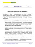 OdS Struttura Organizzativa - Slp Cisl Roma Capitale e Rieti