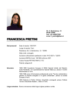 FRANCESCA PRETINI - rietifilmcommission.it