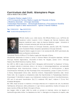 dr giampiero pepe curriculum 2014