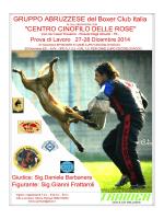GRUPPO ABRUZZESE del Boxer Club Italia