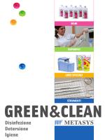 Disinfezione Detersione Igiene