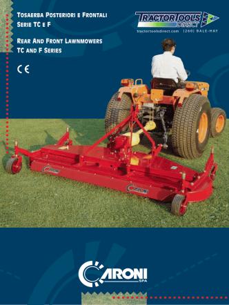 caroni finish mower brochure_ttd