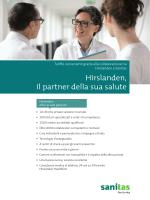 Foglio dei prodotti cliniche Hirslanden