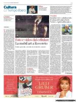 Articolo su Corriere del Trentino (PDF)