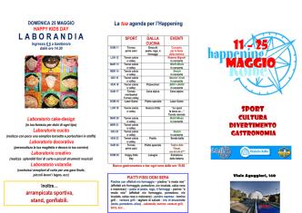 11 – 25 MAGGIO - Parrocchia Kolbe