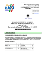 Com. Uff. LND-SGS ROMA ALP-ALB-GIP