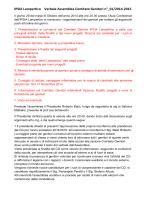 Verbale Assemblea Comitato Genitori 29.10.2014