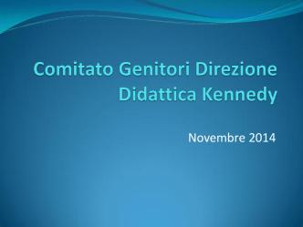 Comitato genitori CDK novembre 14