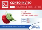 Conto Invito Credito Valtellinese