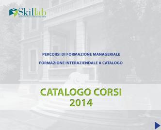 catalogo corsi 2014 catalogo corsi 2014