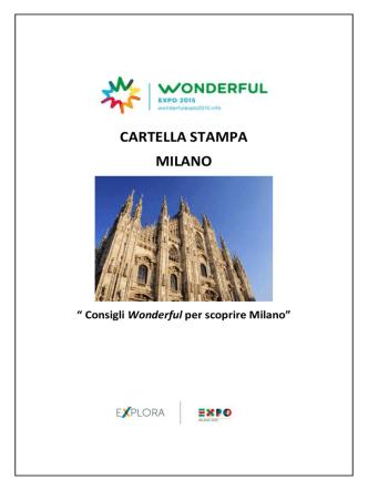 Cartella Stampa – MILANO
