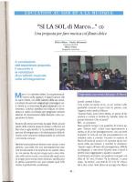 """ED(JCATION AU SON ET A LA MUSIQUE """"SI IA SOL di Marco..."""" (3"""
