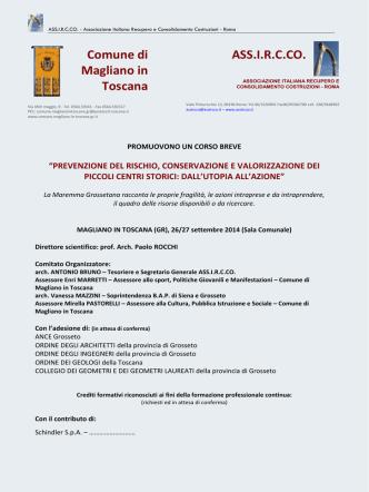 ASS.IRCCO. Comune di Magliano in Toscana