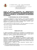 AVVISO MOBILITA ASS.SOCIALE